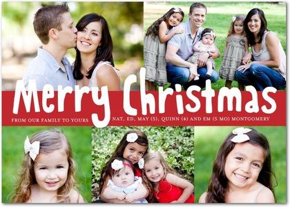 save - Tiny Prints Christmas Cards