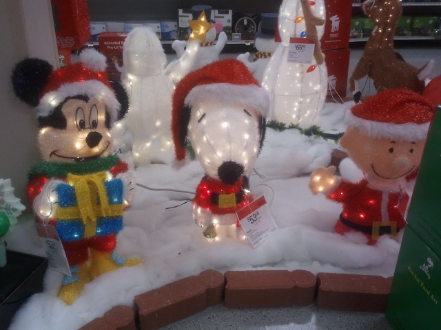 lighted characters