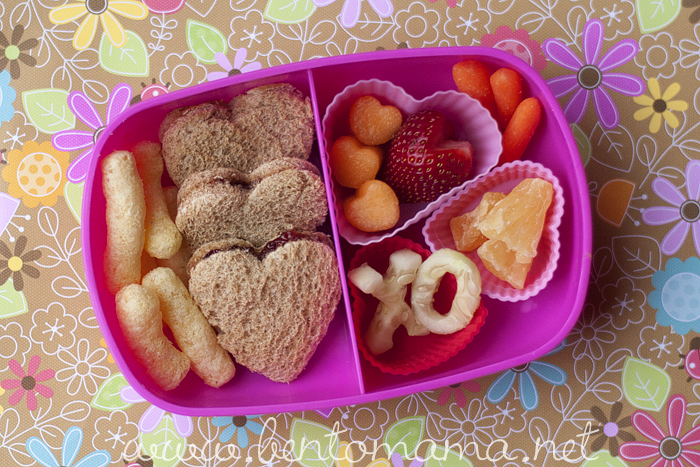 10 valentine's day themed lunches, Ideas