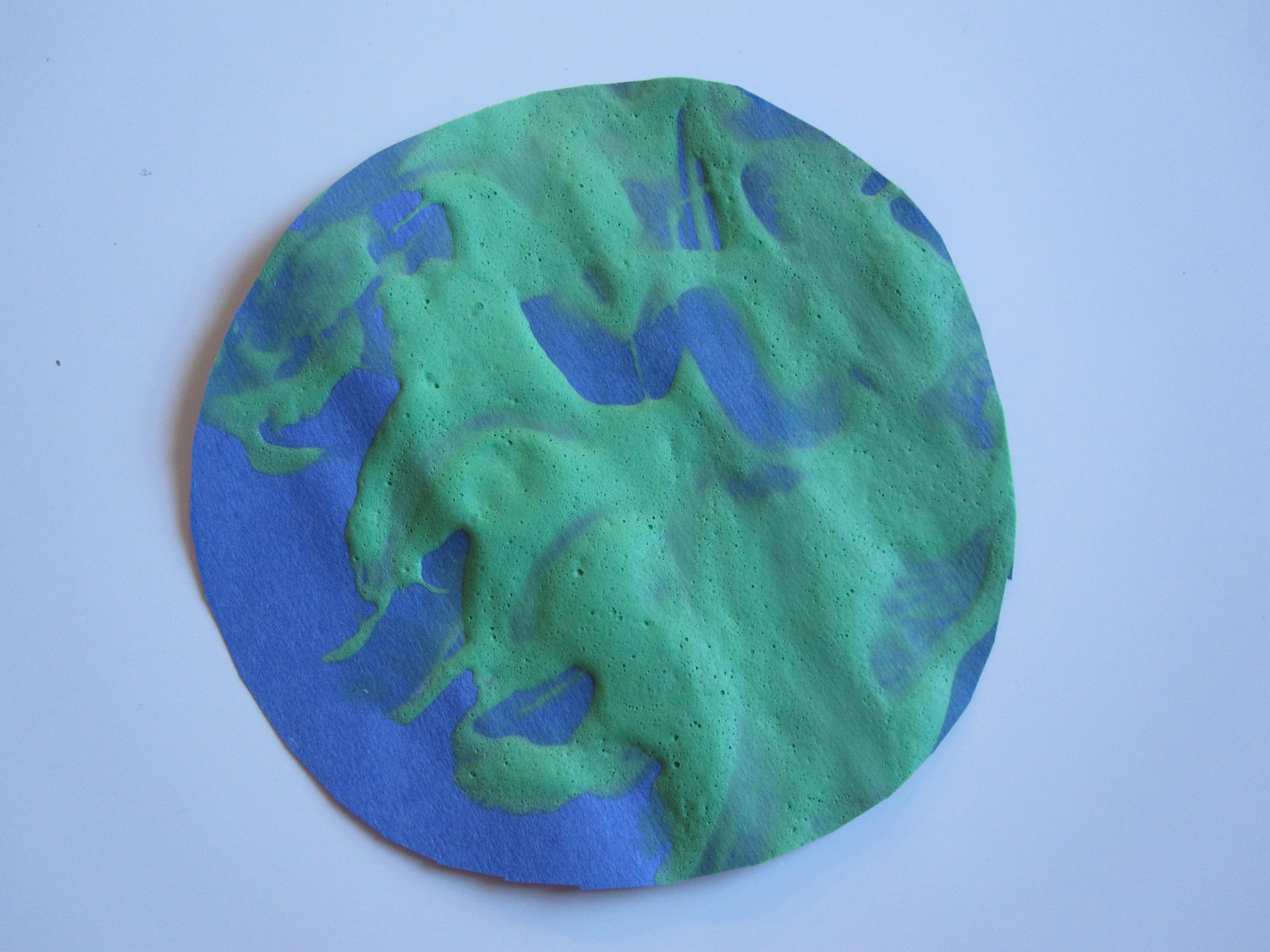 preschool planets art - photo #25