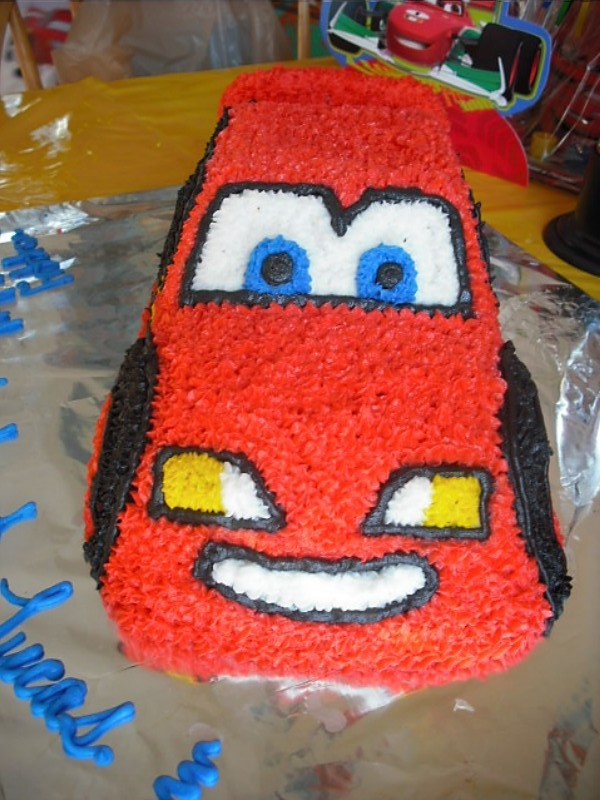 Admirable Disney Cars Themed Birthday Party Ideas Making Time For Mommy Personalised Birthday Cards Veneteletsinfo