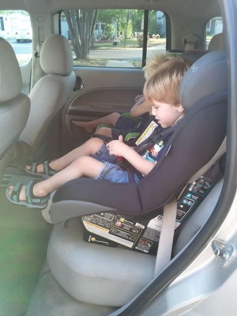 Save Lucas In His New Maxi Cosi Car Seat
