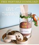 gratitude jar free printables